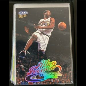 Allen Iverson Basketball Trading Cards